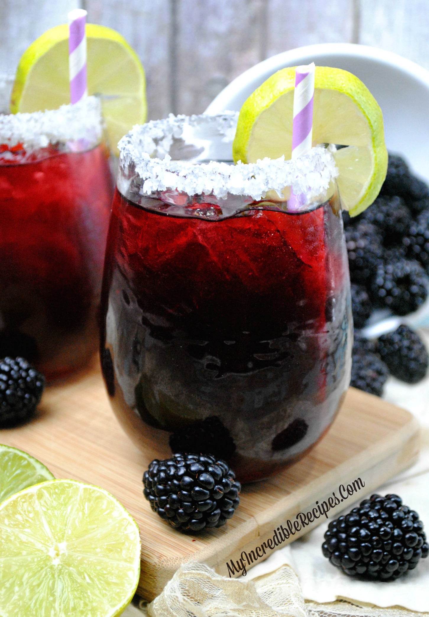 Blackberry Margaritas!