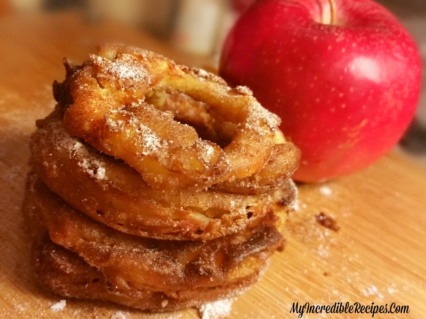 Cinnamon Sugar Apple Rings