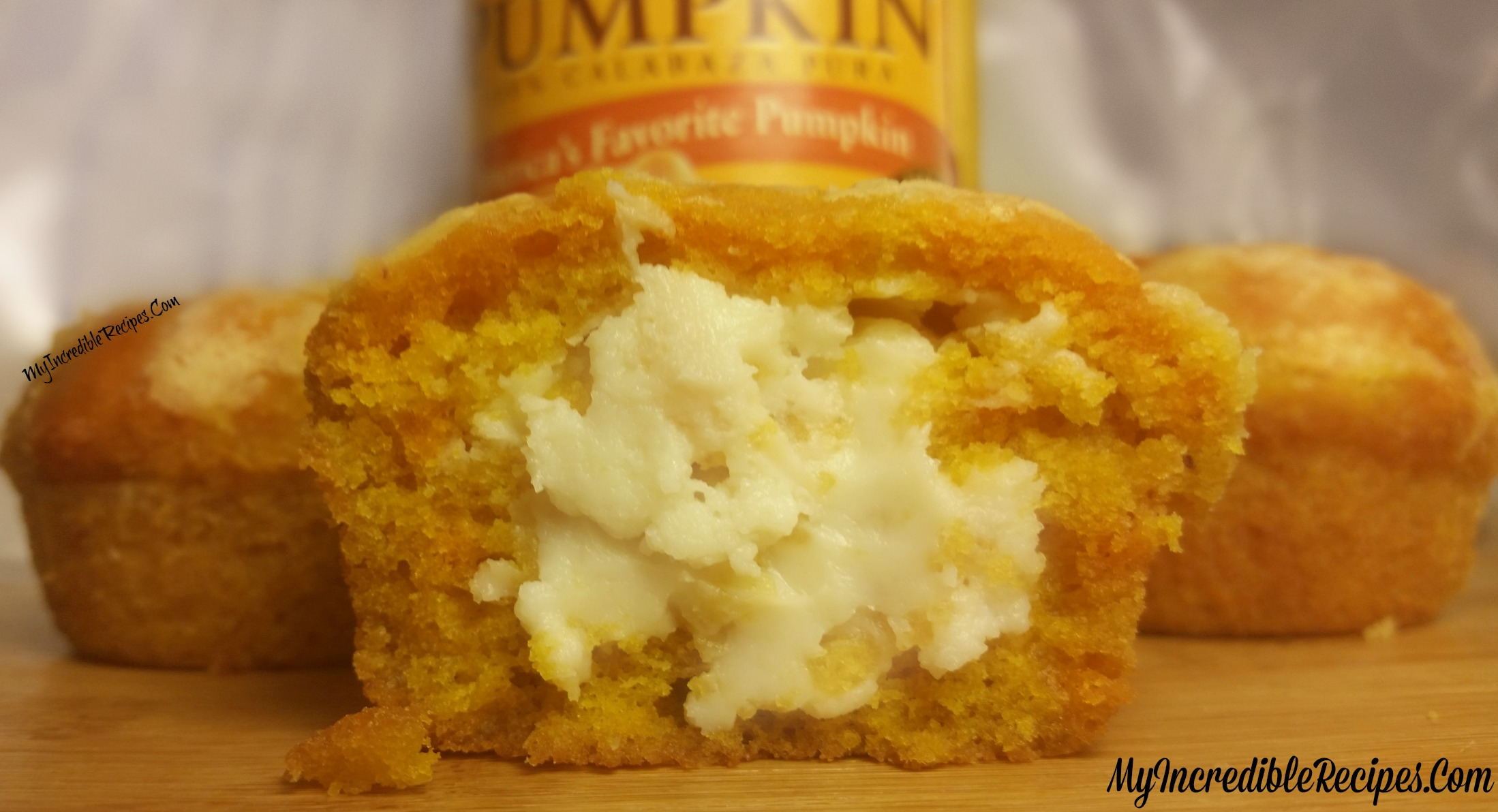 Pumpkin Cream Cheese Muffins!