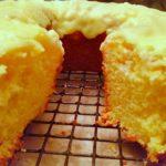 Easy Lemon Pound Cake with Lemon Icing!