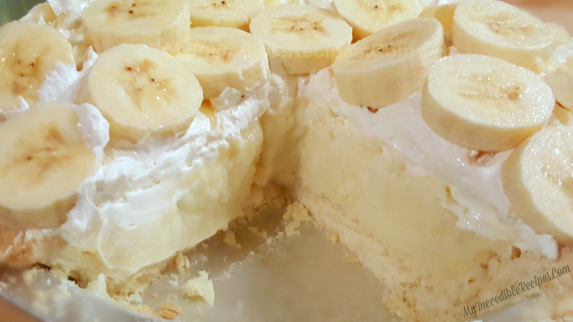 Permalink to Old Fashioned Banana Cream Pie