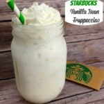 Starbucks Vanilla Bean Frappuccino- Copycat!