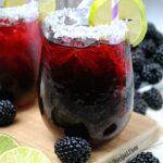 Blackberry Margarita Smash!