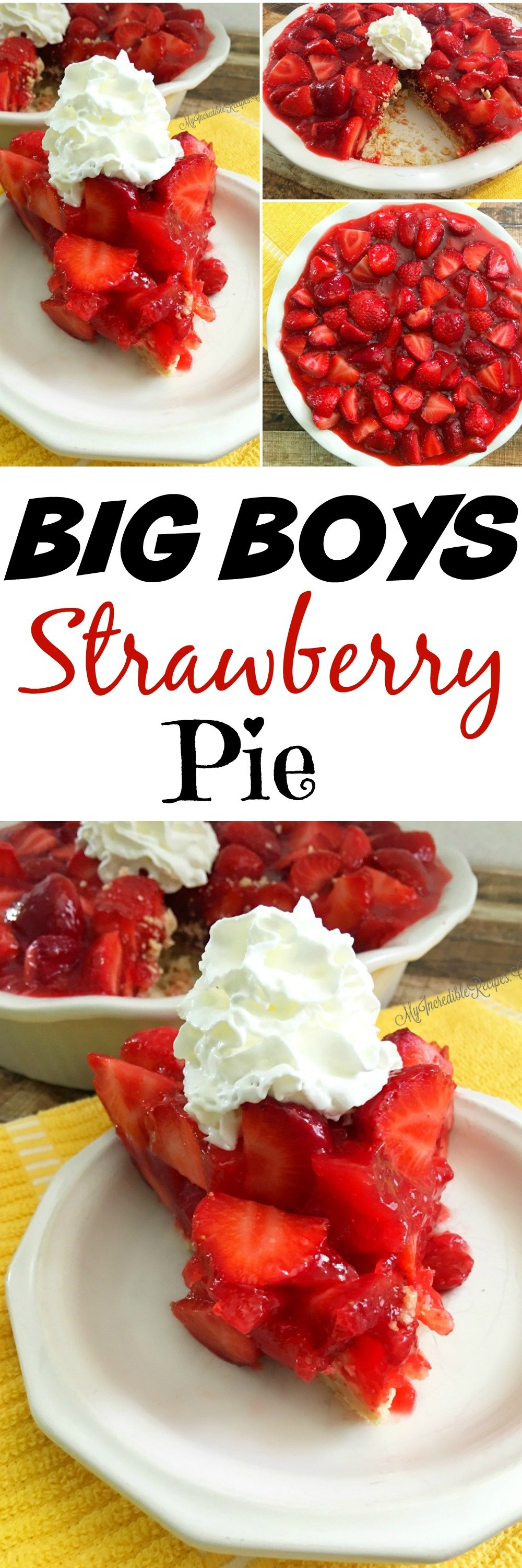 Best Ever Strawberry Pie