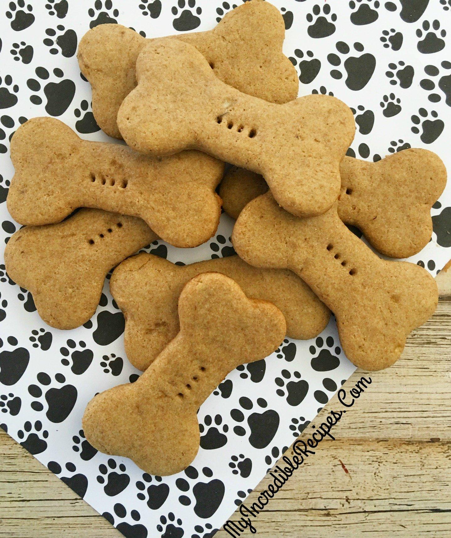 4 Ingredient Dog Biscuits