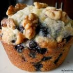 Blueberry Walnut Muffins!