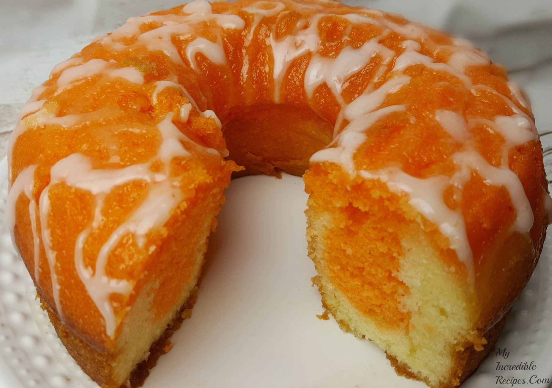 Orange Soda Cake Recipe