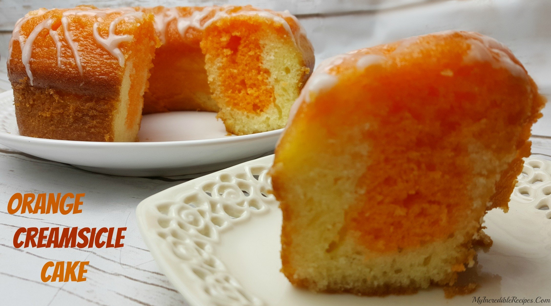 Ingredient Orange Creamsicle Cake