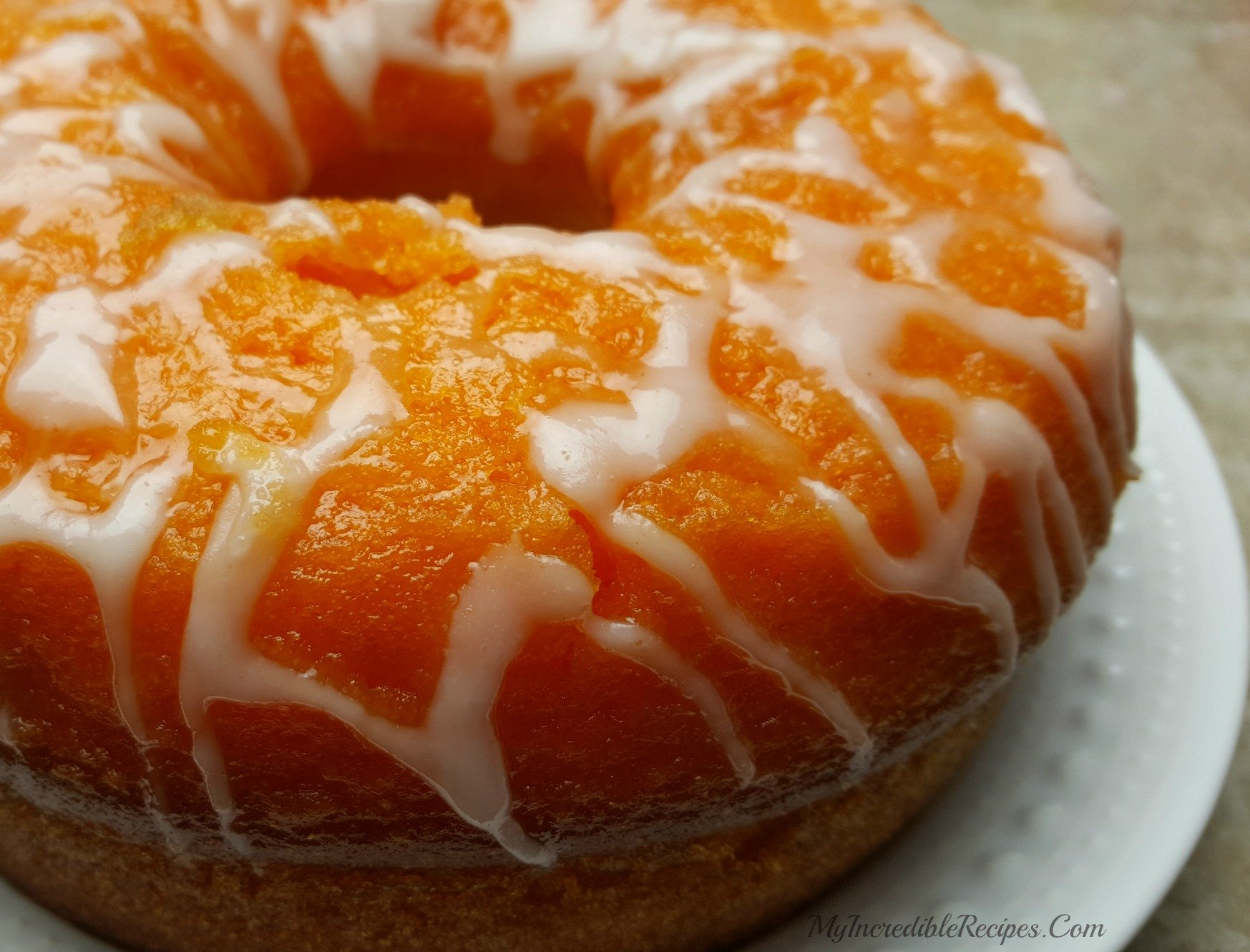 Orange Soda Creamsicle Cake Recipe