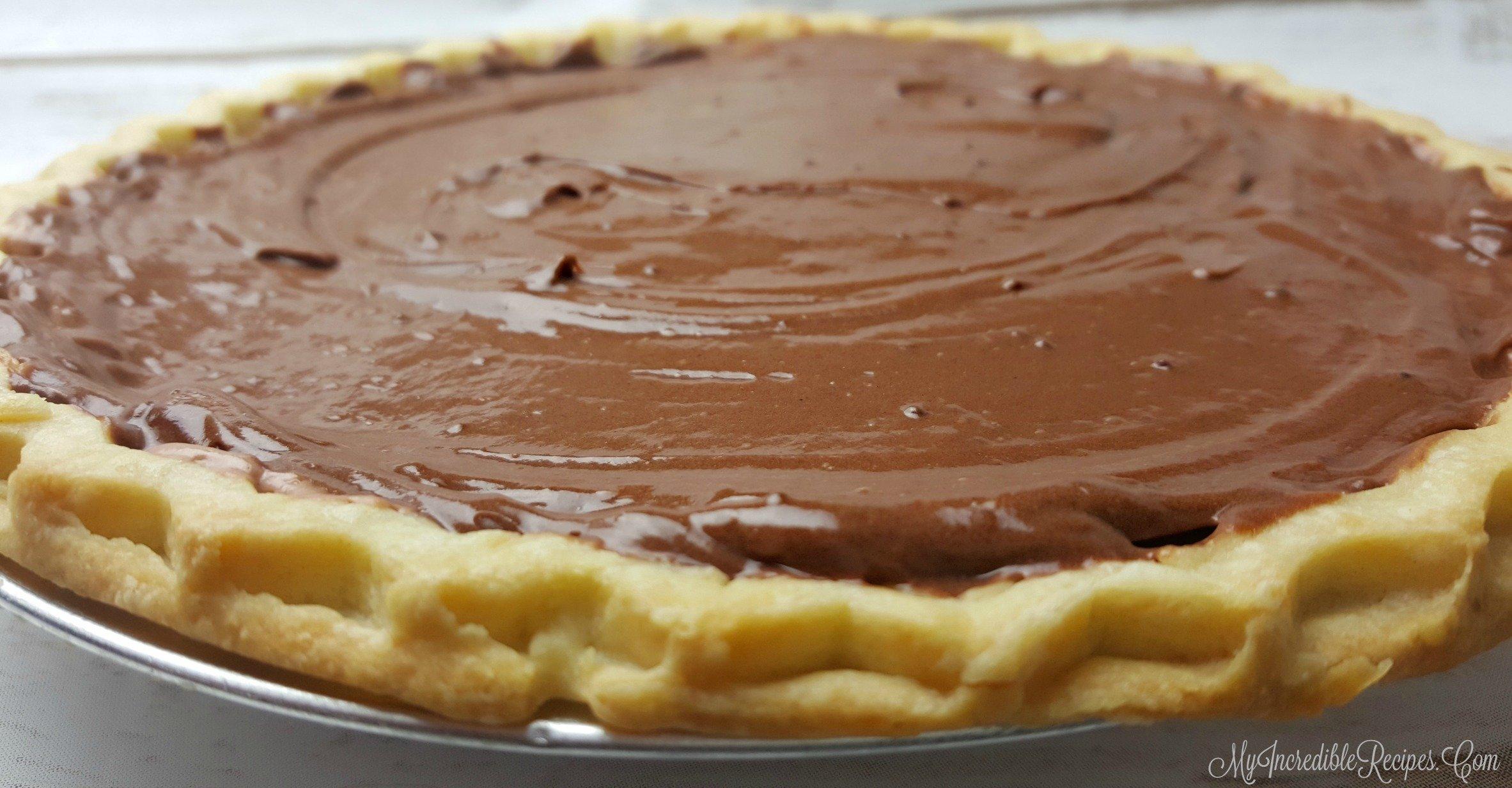 Chocolate Cream Pie!