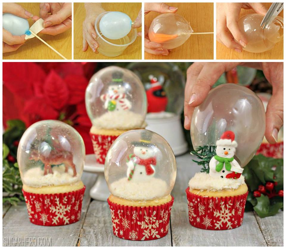 1 - Christmas Dessert Decorations