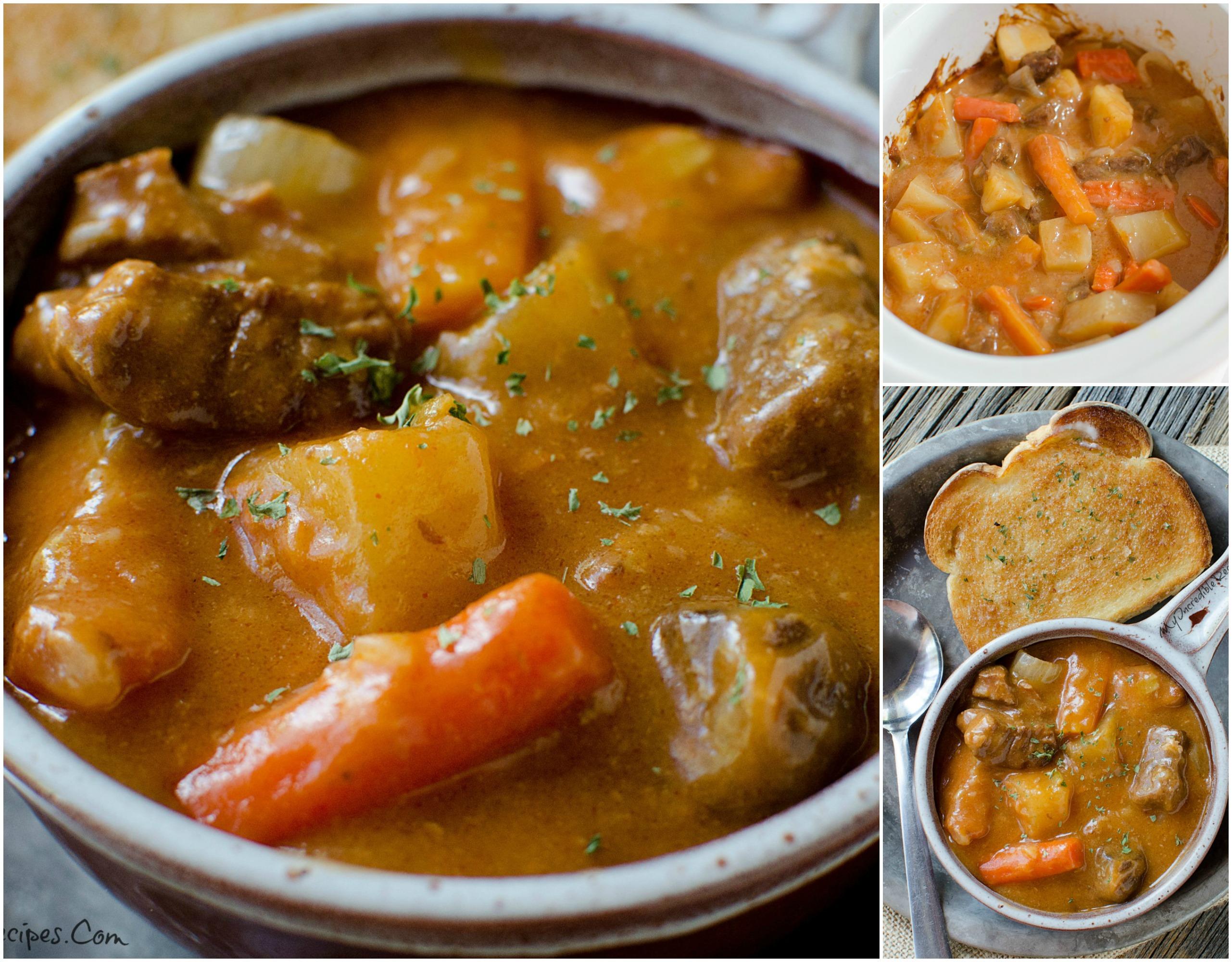 Slow Cooker Beef Stew!