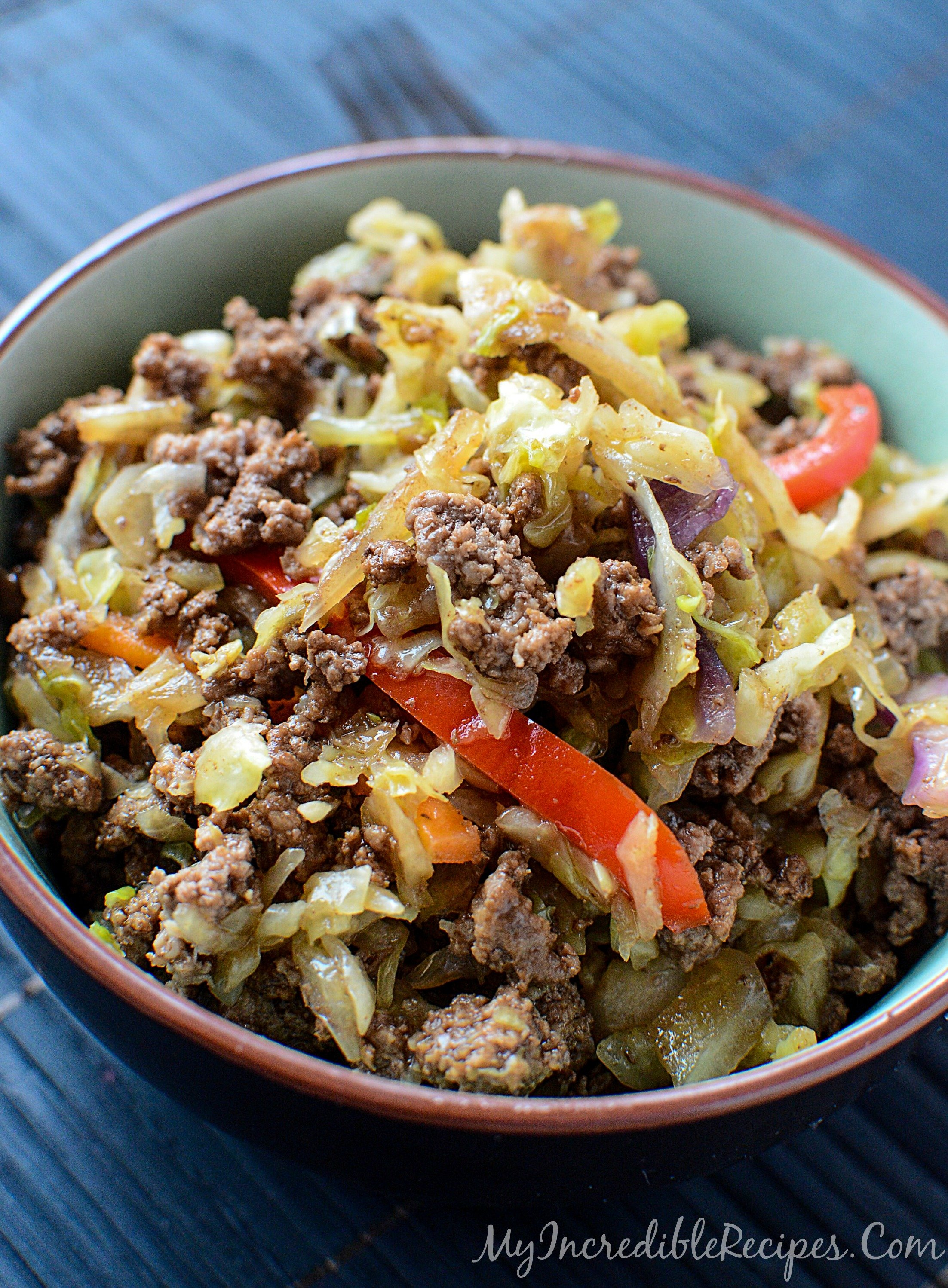 Easy Asian Beef Cabbage Stir Fry