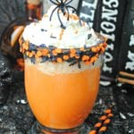 Slow Cooker Halloween Hot Chocolate!