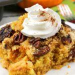 Pumpkin Pecan Dump Cake!