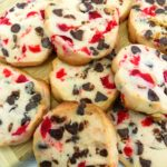 Maraschino Cherry Shortbread Christmas Cookies!