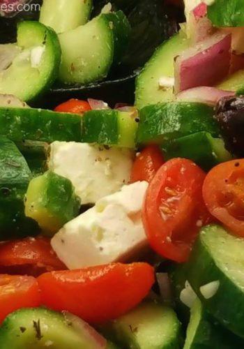 Greek Cucumber Salad!