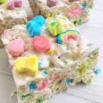 Lucky Charms Krispy Treats!