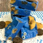No Bake Cookie Monster Fudge!