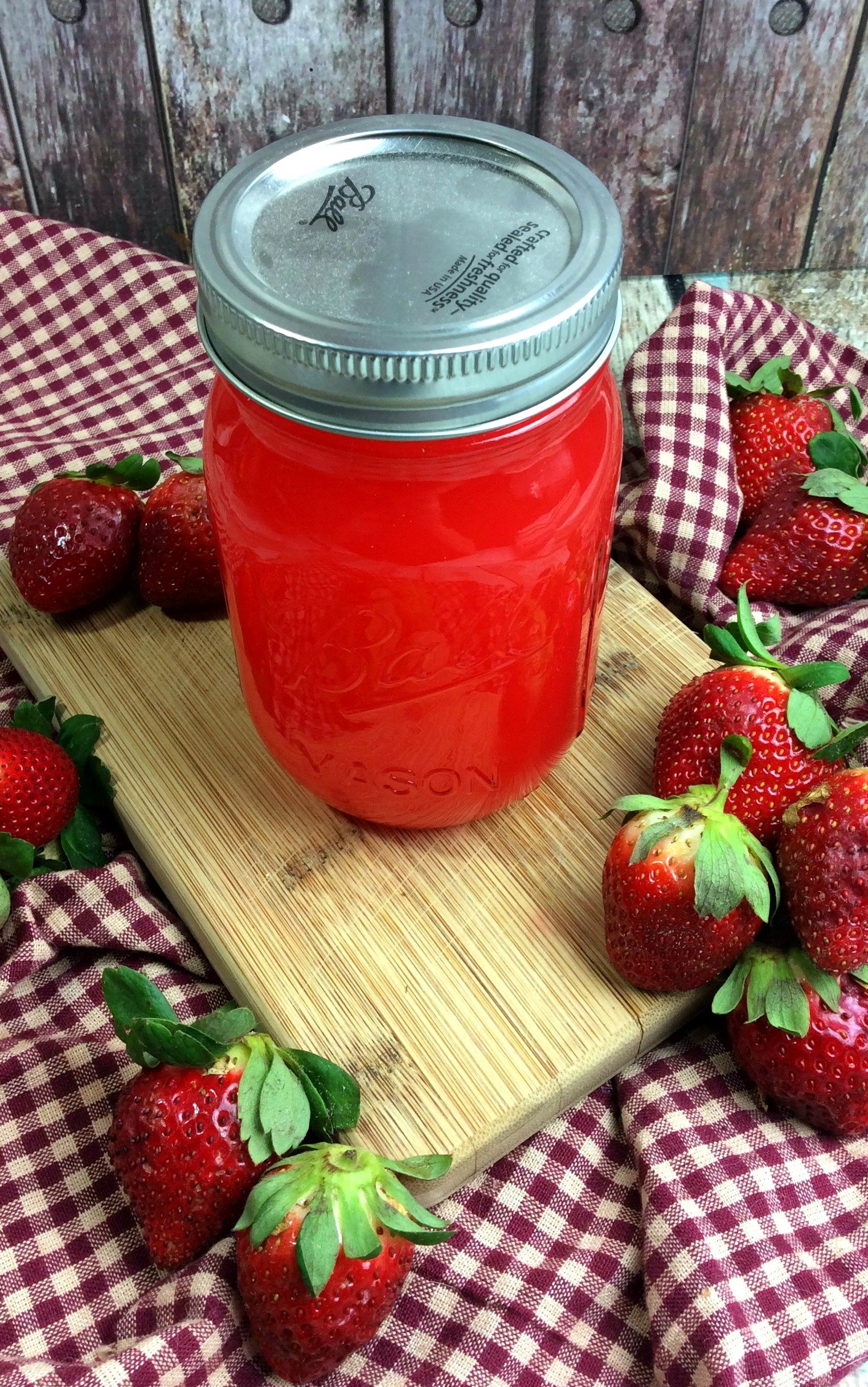 Strawberry Moonshine