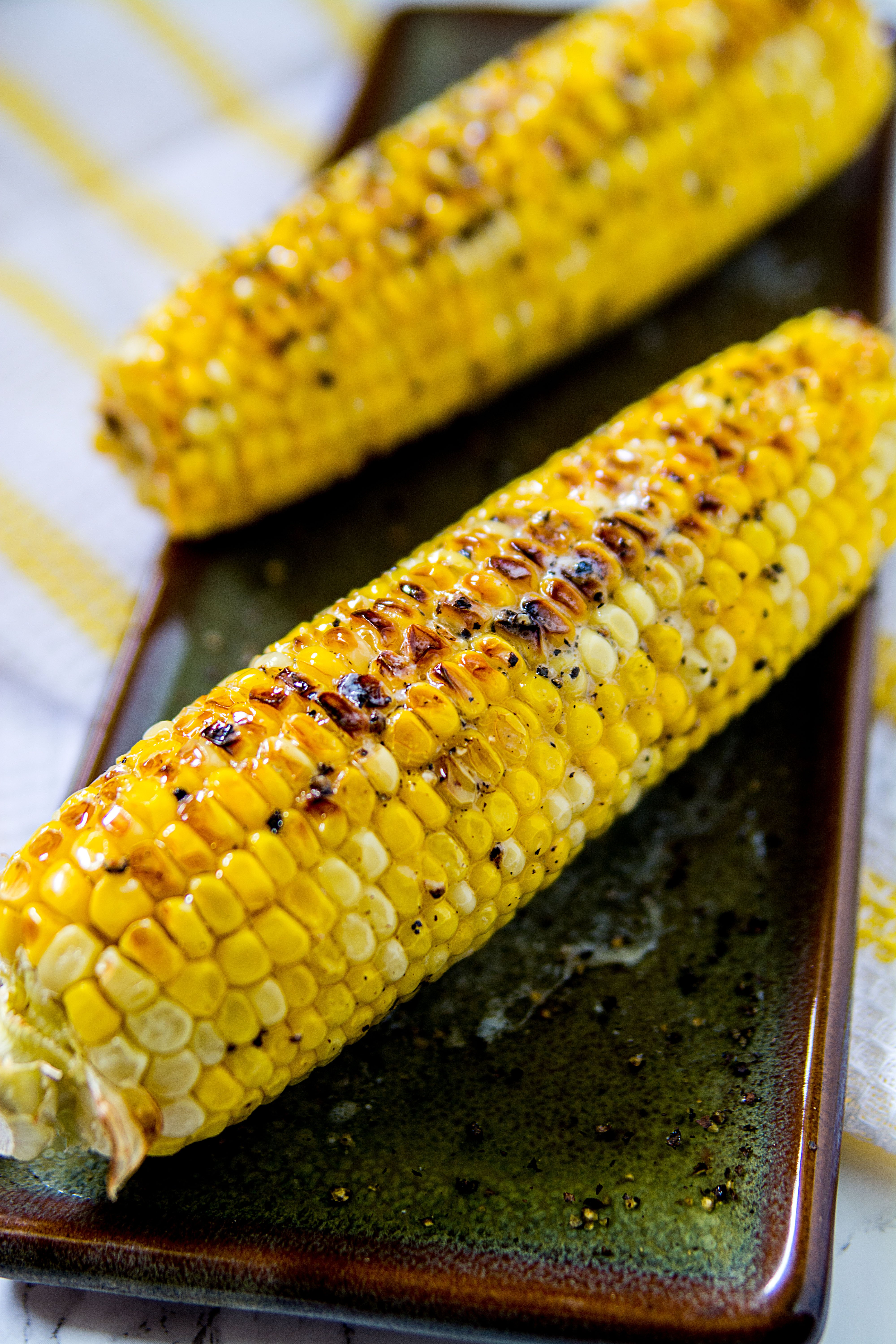 Magical Oven Roasted Corn
