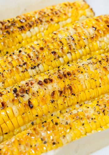 Magical Oven Roasted Corn!