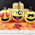 DIY Emoji Pumpkins!