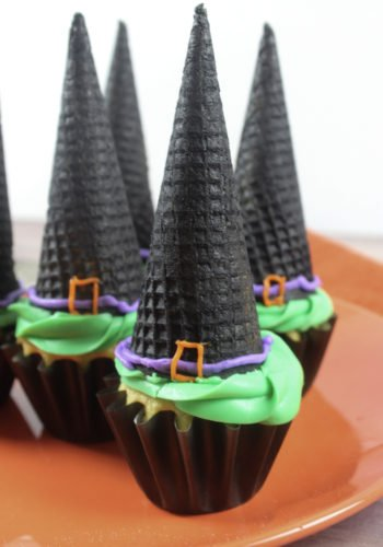 Witch Hat Cupcakes!