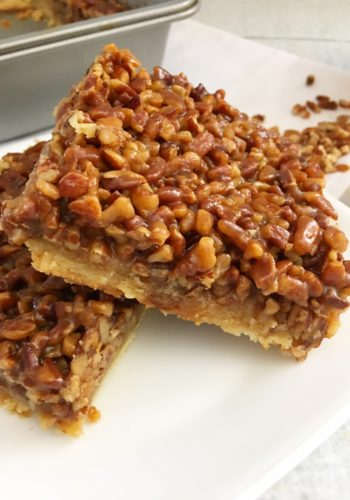 Momma's Pecan Pie Bars!