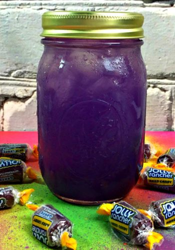 Grape Jolly Rancher Moonshine!