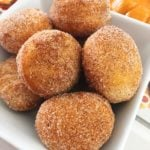 Pumpkin Spice Donut Holes!
