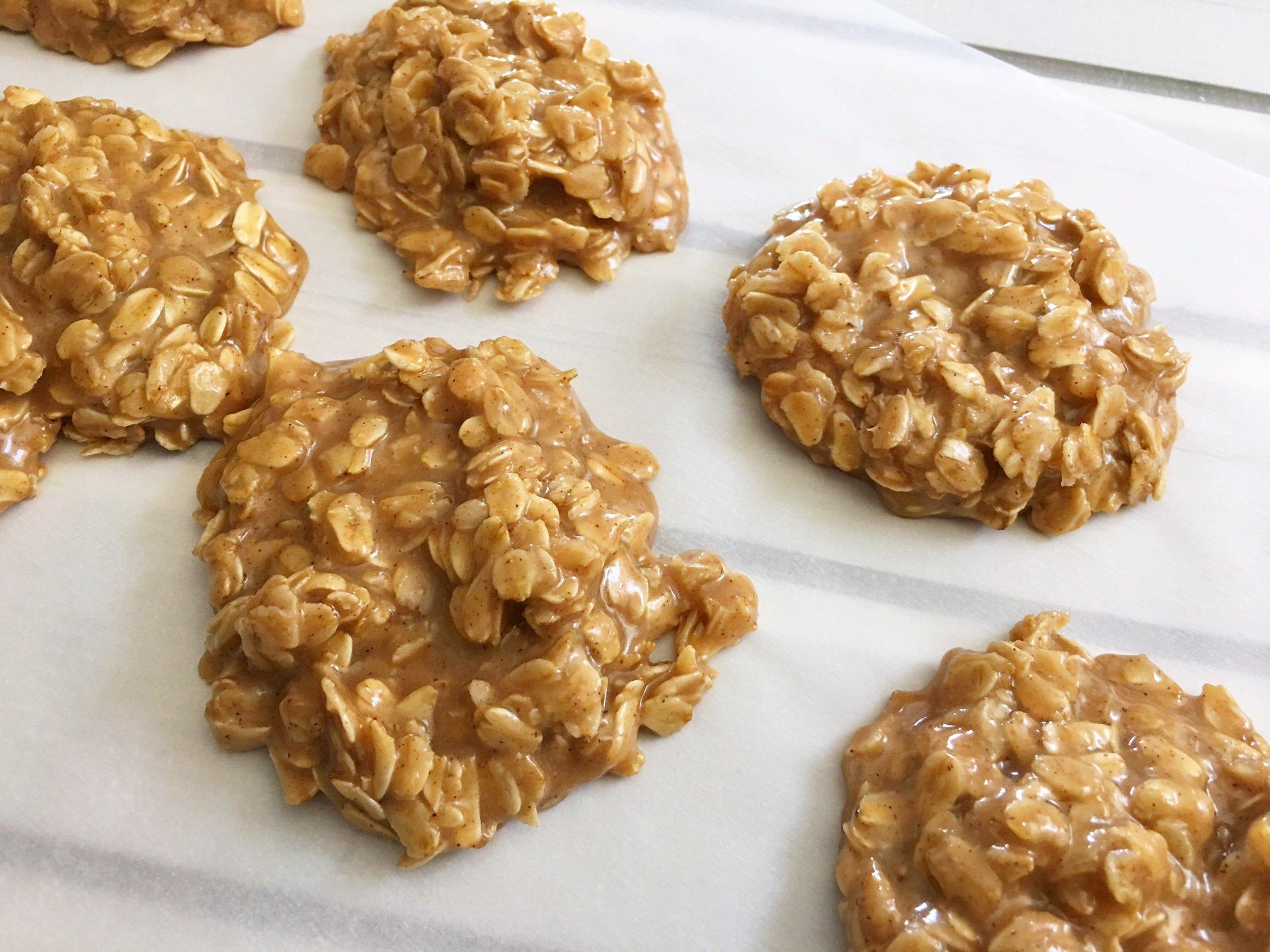 Peanut Butter No Bake Cookies!