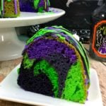 Witches Brew Halloween Cake!
