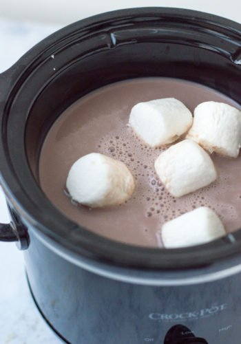 Easy Slow Cooker Hot Chocolate! (Adult & Kid-friendly versions)