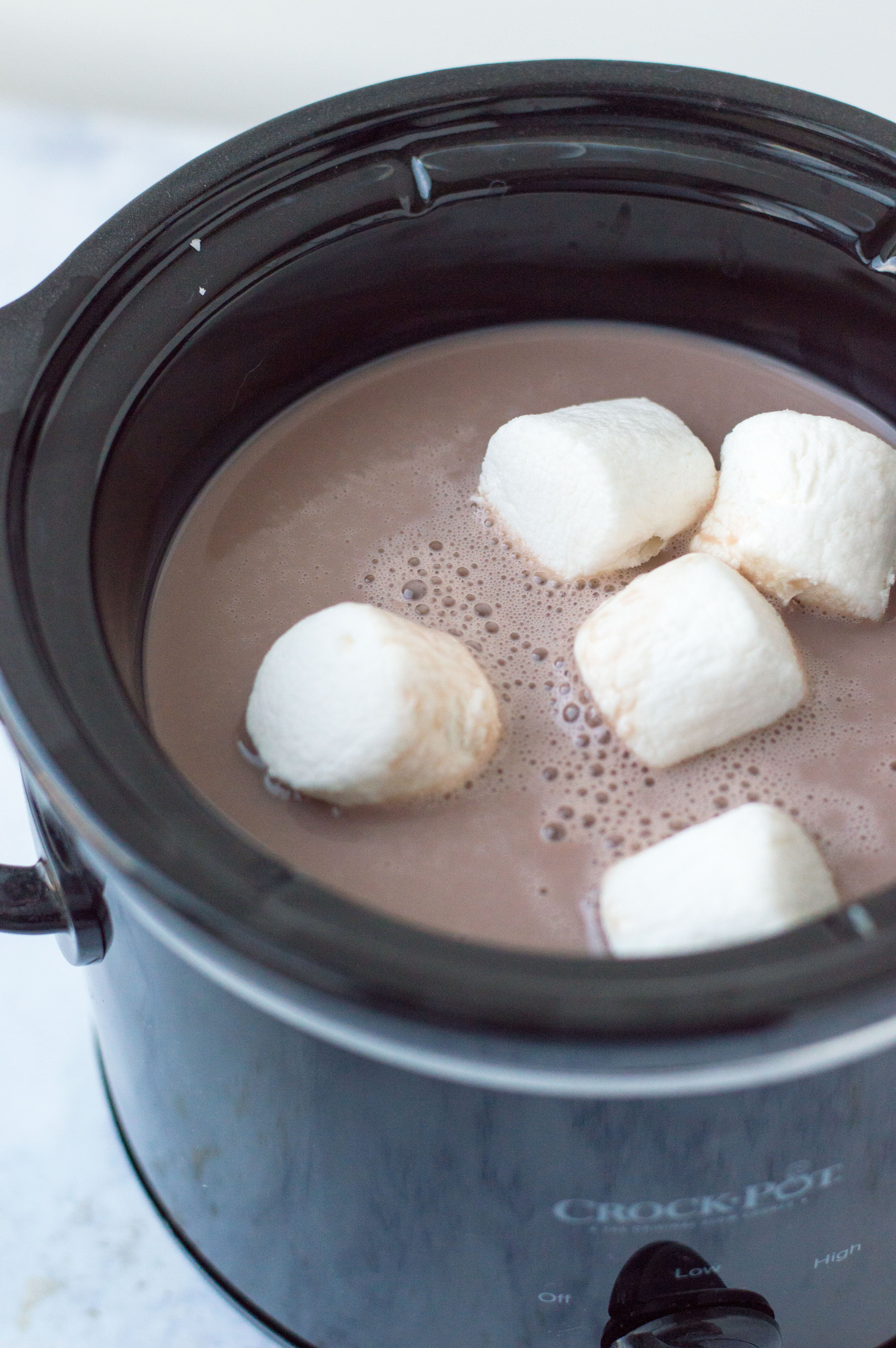 Easy Slow Cooker Hot Chocolate Adult Kid Friendly Versions