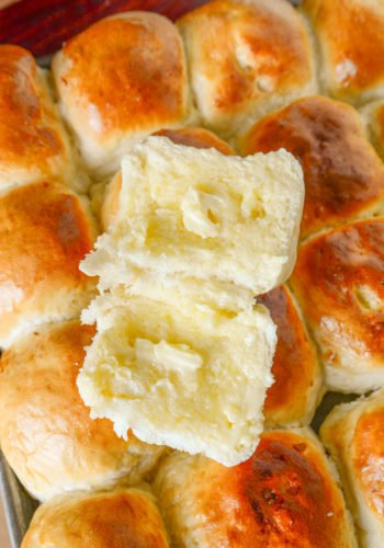 The Ultimate Dinner Rolls – NO MIXER NEEDED!