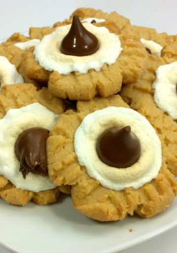 Peanut Butter Smores Cookies!