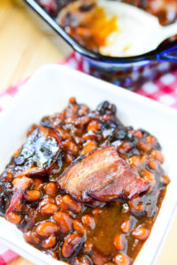 Brown Sugar Bacon Baked Beans- BEST EVER!