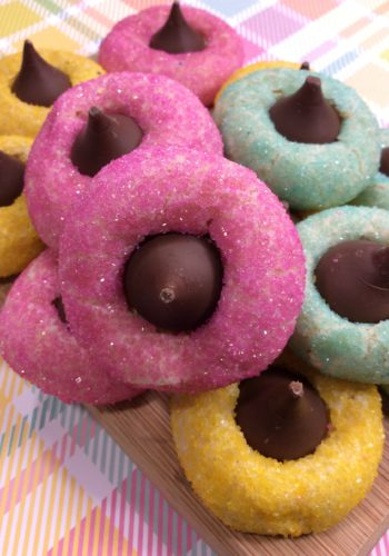 Springtime Thumbprint Cookies!