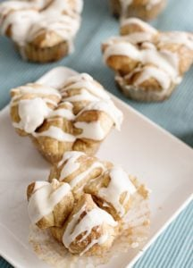 Snickerdoodle Monkey Bread Muffins!