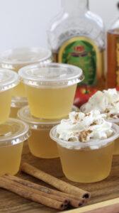 Apple Pie Jello Shots!
