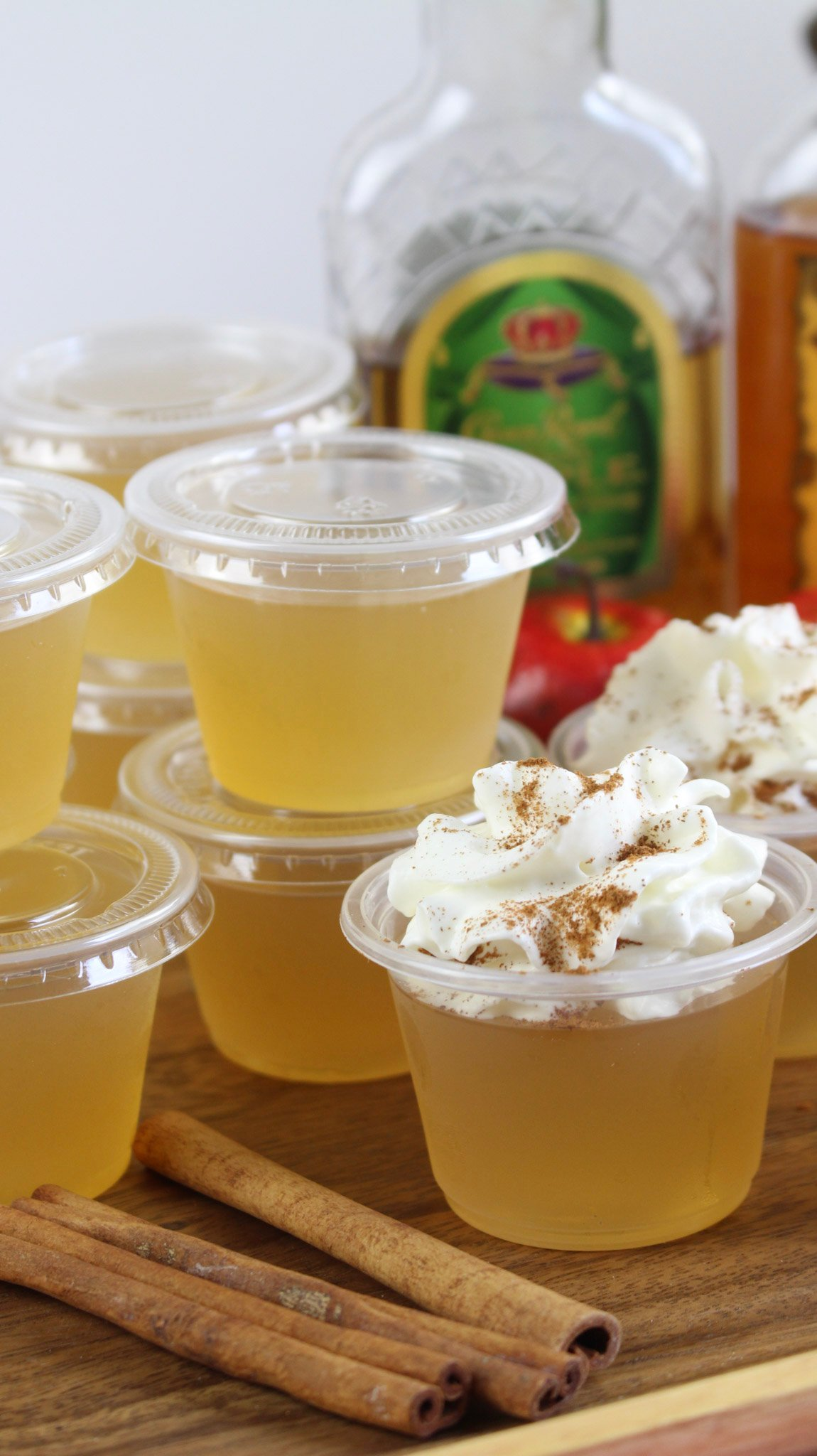 Apple Pie Jello Shots!