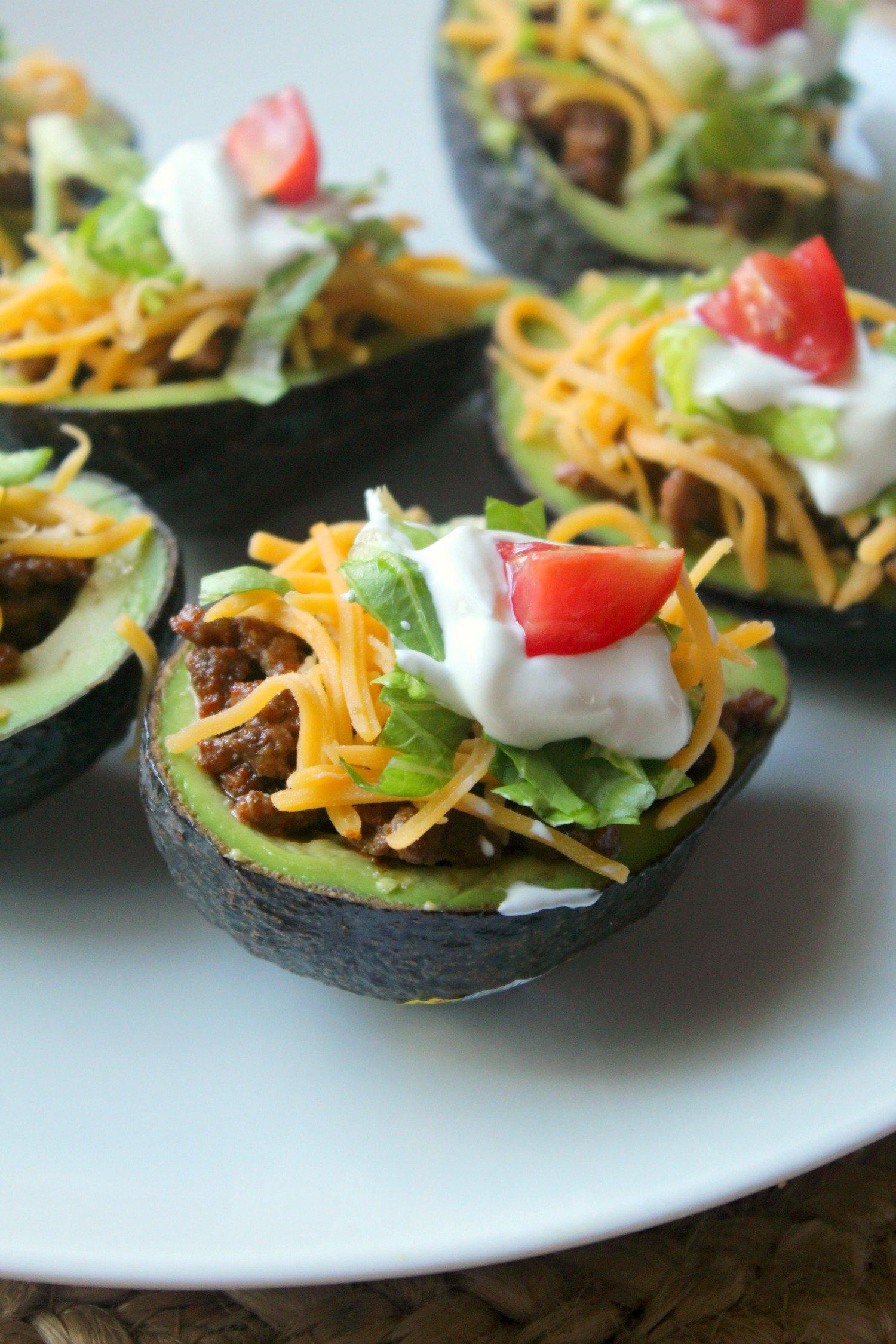 Taco Stuffed Avocados!
