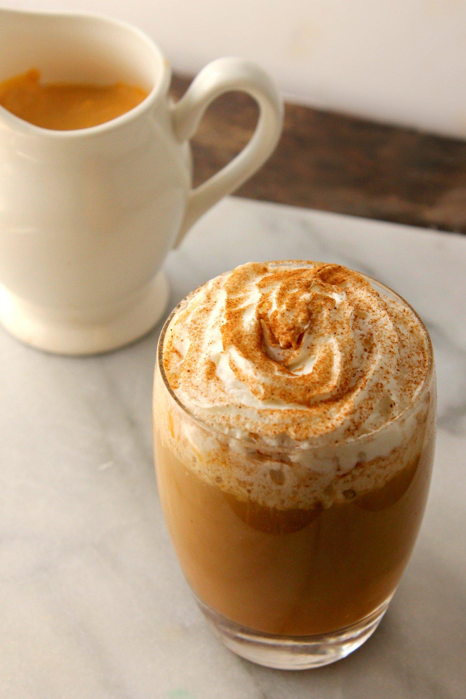 Homemade Pumpkin Spice Coffee Creamer!