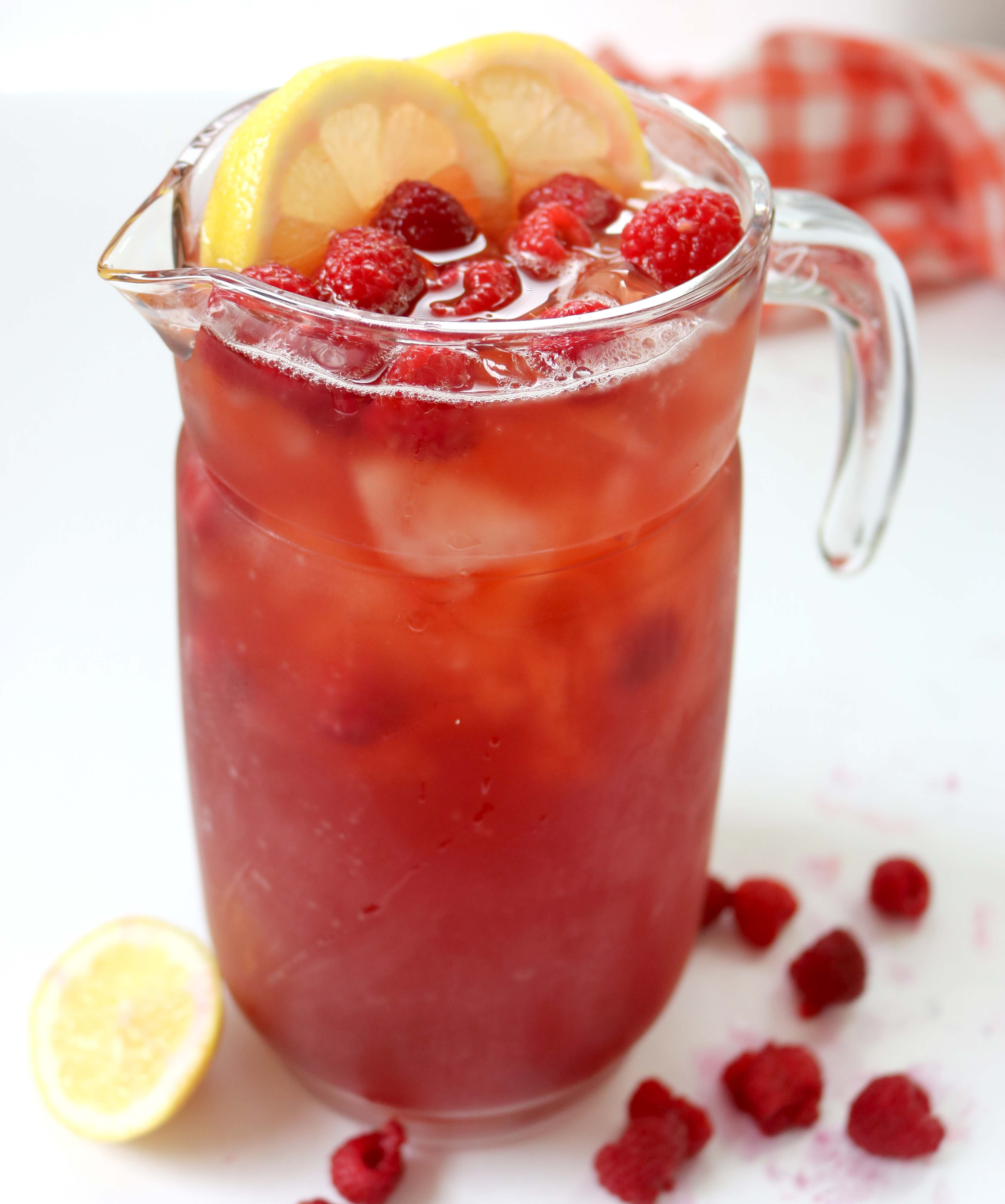 Raspberry Southern Sweet Tea!