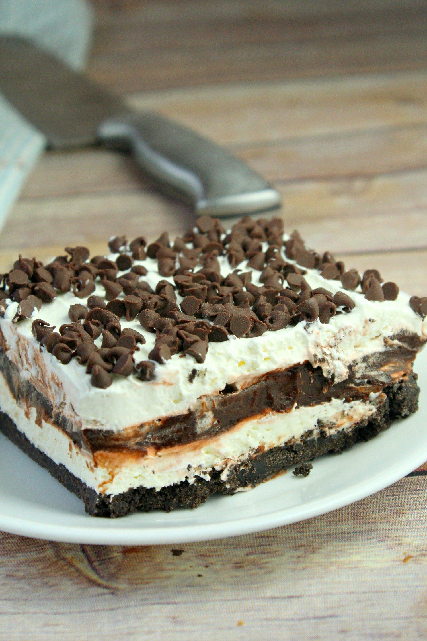No Bake Chocolate Lasagna!