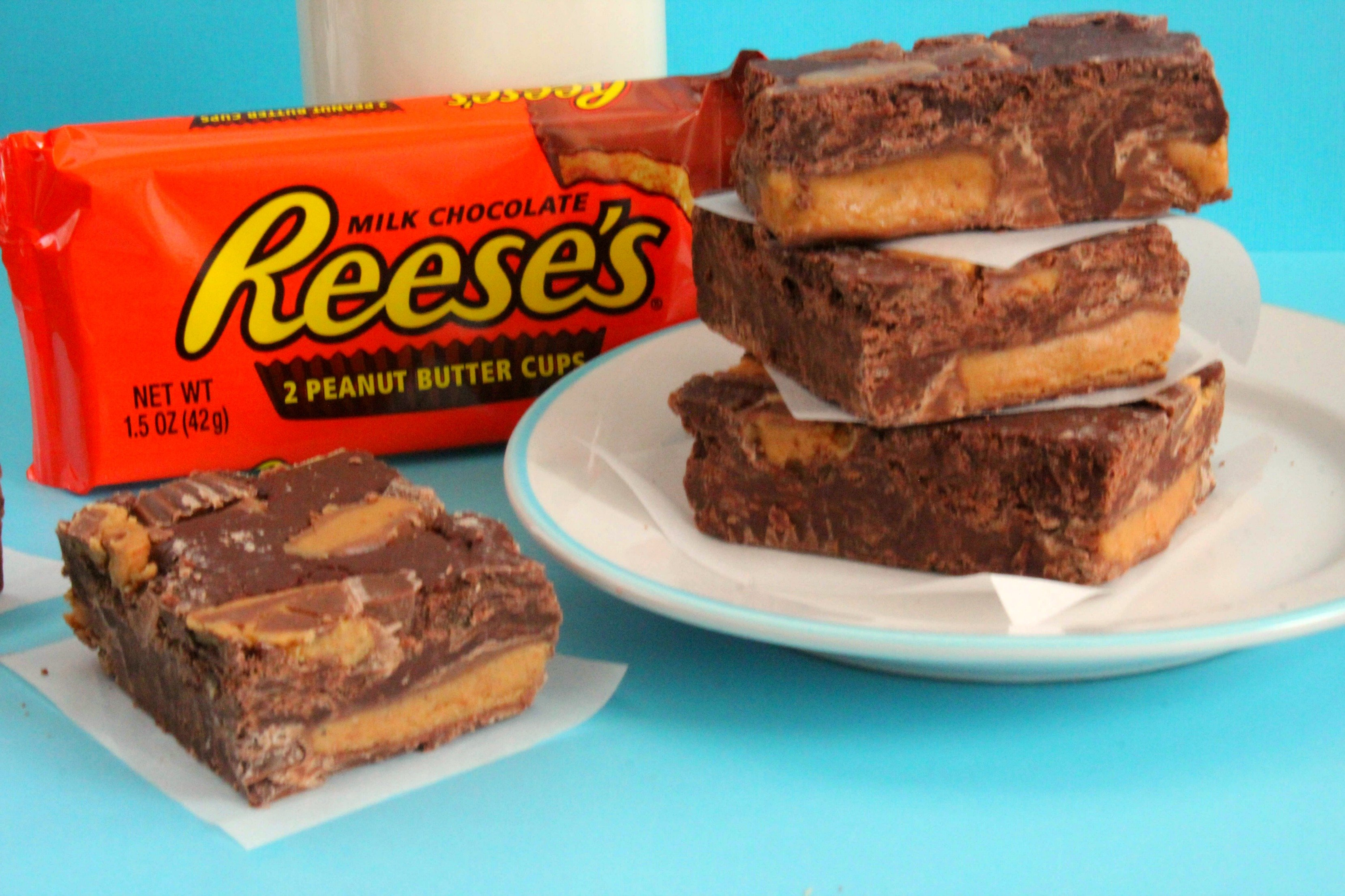 No Bake 3 Ingredient Reeses Peanut Butter Cup Fudge