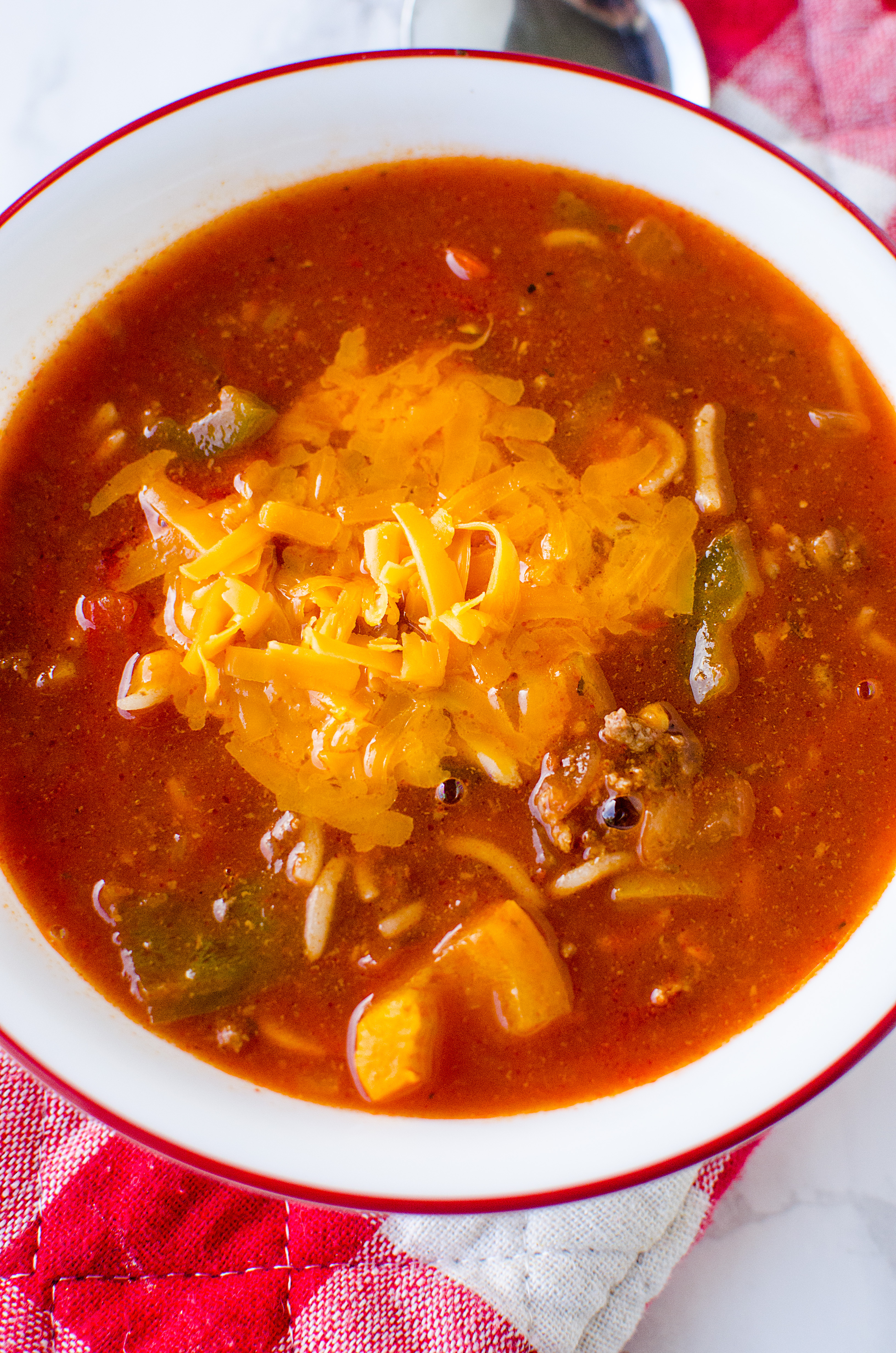 The Best Ever Stuffed Pepper Soup