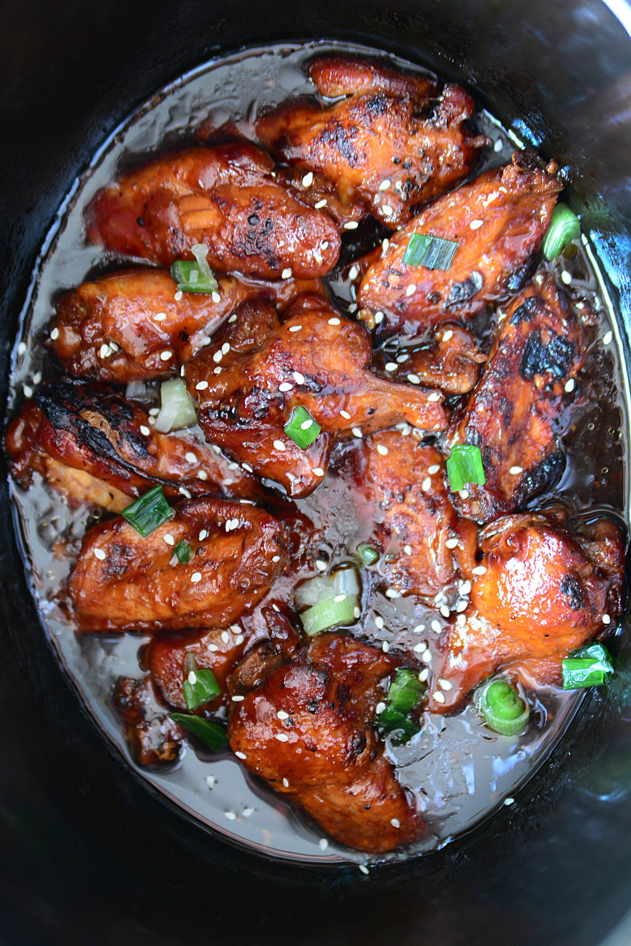Slow Cooker Chicken Teriyaki Wings