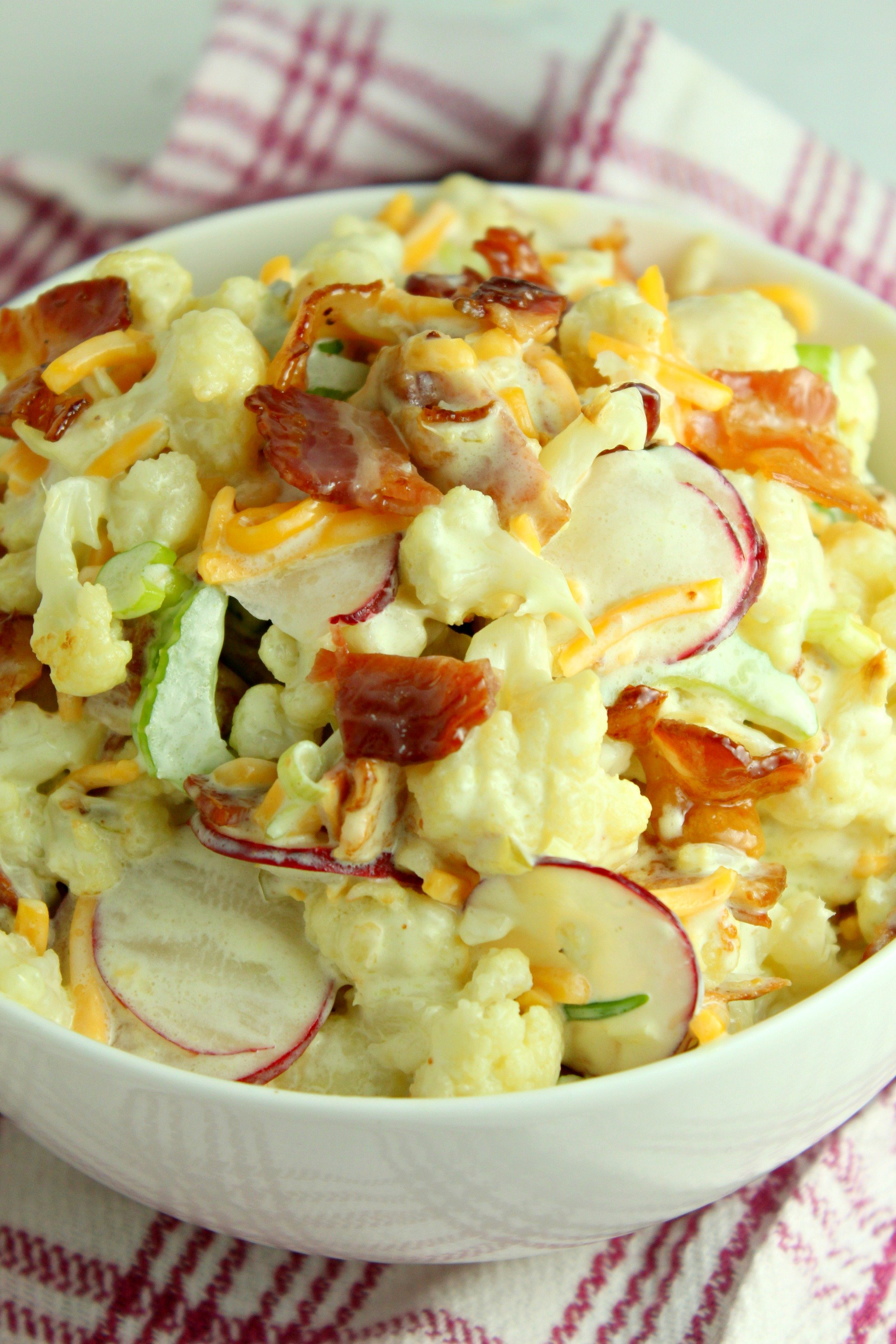 Loaded Cauliflower Salad (low Carb)
